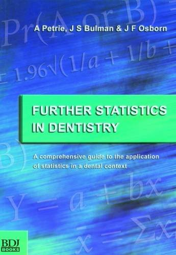 Further Statistics in Dentistry