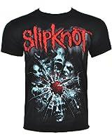 Slipknot Shattered T Shirt (Black)