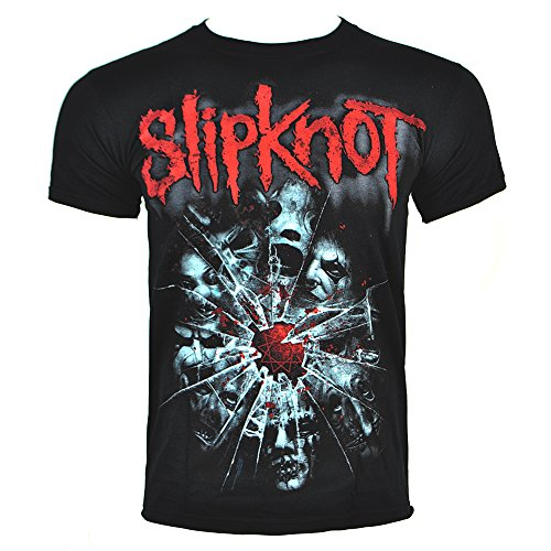 Slipknot Shattered T Shirt (Nero) - X-Large