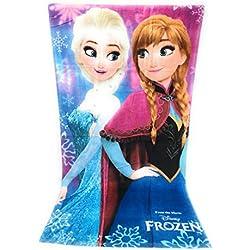 Serviette de plage, Drap de plage en COTON 100% (290gm/m2) - 70x140 cm - Frozen - Reine des neiges - Disney - Elsa & Anna