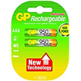 GP - Pile Rechargeable - 930 mAh - AAA x 2 - (LR03)