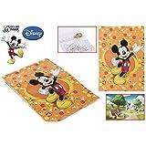 Mickey Mouse - Cuaderno para colorear + stickers, 30 X 21 cm (Color Baby 73948)