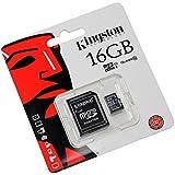 Tarjeta de memoria 16GB para Huawei U8600 (micro SD, Adaptador SD)