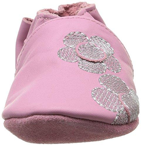 Robeez Flora, Chaussures Bébé marche bébé fille Rose (13)