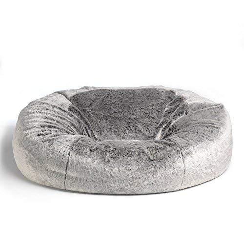 ICON Kenai Cloud - Zweisitzer Sitzsack in Pelzoptik - Riesensitzsack in Pelzoptik Arctic Wolf
