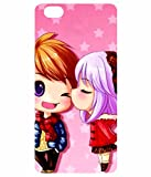 Soft Silicon High Quality Printed Back Cover For Vivo V5 – Young Couple Cartoon Print