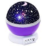 ToomLight Veilleuse pour Enfants, Lampe de Nuit pour bébé 4 Del 8 Modes avec câble USB, idéale pour Chambre d'enfant Chambre Cadeau d'anniversaire pour Enfants