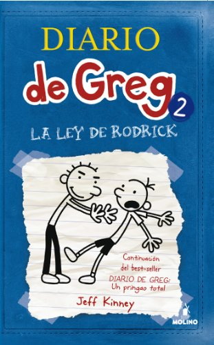 Diario de Greg 2. La ley de Rodrick por Jeff Kinney