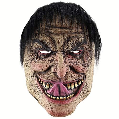 PPM Halloween Funny Wretched die Mann Maske Horror Clown Latex Kopfbedeckung