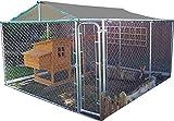 FeelGoodUK Käfig, verzinkt, 3x3x1,8m