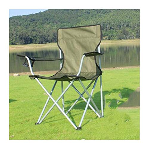 Camping Klappstuhl, Outdoor Reise Tragbare Ultralight Olive Green Backpacking Stühle