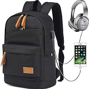 3d4f9e4e53ea1 Myhozee Wasserdicht Laptop Rucksack Schulrucksack  Amazon.de ...