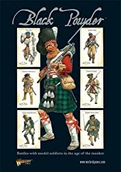 Black Powder: Battles with Model Soldiers in the Age of the Musket (Main Rule Book) by Rick Priestley (2010-01-19)