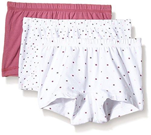 NAME IT Baby-Mädchen Höschen NITTIGHTS K G NOOS, 3er Pack, Gr. 116 (Herstellergröße: 110-116), Mehrfarbig (Bright White)