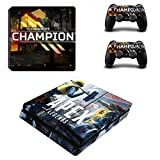 Skin Sticker - PS4 Slim Sticker Skin Apex Legends Sticker für Sony PlayStation4 Slim PS 4 Slim Konsole und Controller Skins Vinilo Pegatinas für PS4 Slim Skin, PS4 Pro Skin, PS4 Skin Sticker A68