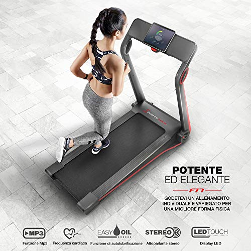 Zoom IMG-1 sportstech tapis roulant f17 console