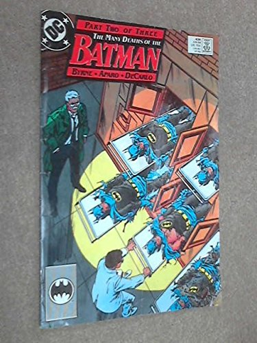 Batman Issue 434 June 1989 The Many Deaths of Batman Part Two