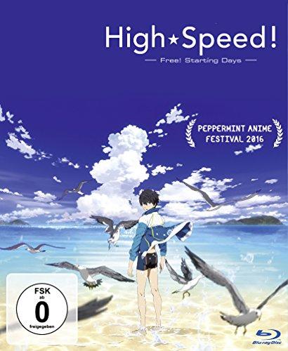 High Speed!: Free! Starting Days [Blu-ray] High-speed-audio