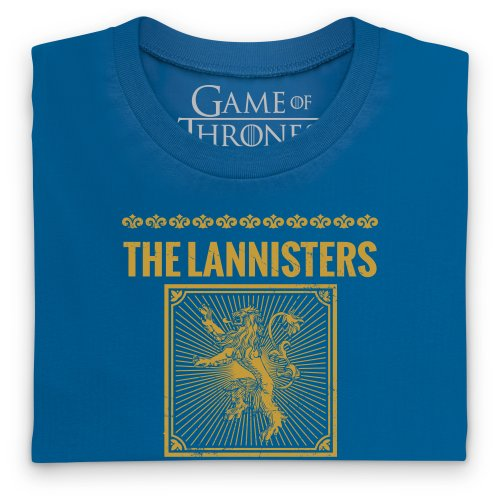 Official Game of Thrones - Roose Bolton Quote T-Shirt, Damen Royalblau