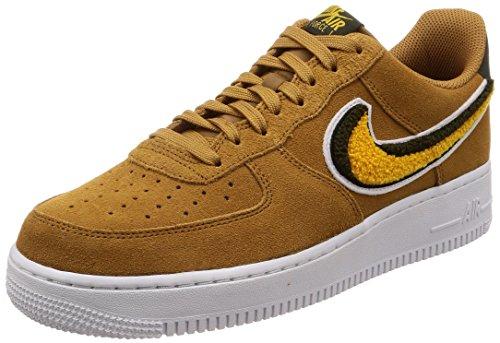 Nike Herren Air Force 1 '07 Lv8 Gymnastikschuhe, Braun (Muted Bronze/Yellow Ochre/Sequ 204), 42 EU (Braun Air Force 1)