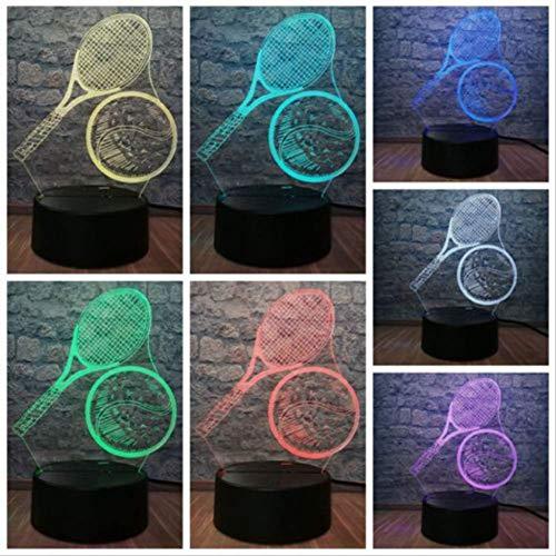 Optische Täuschungs lampe, Kreative Atmosphäre Tischtennis Boy Room Decor Kinderspielzeug Weihnachtsgeschenk
