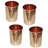 Vasos de cobre para agua hechos a mano