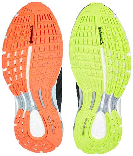 adidas Supernova Sequence Boost Clima, Chaussures de Running Entrainement Homme Noir (Core Black/Flash Lime F15/Solar Orange)