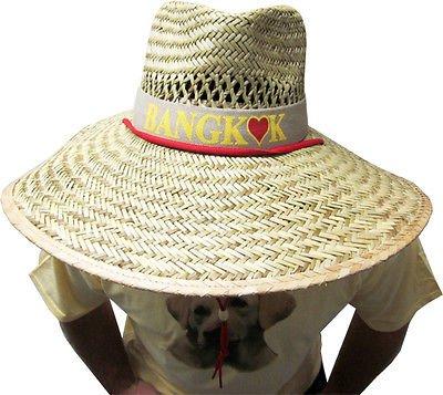 r 2 Alan Bangkok Straw Hat (Alan Halloween Kostüm)