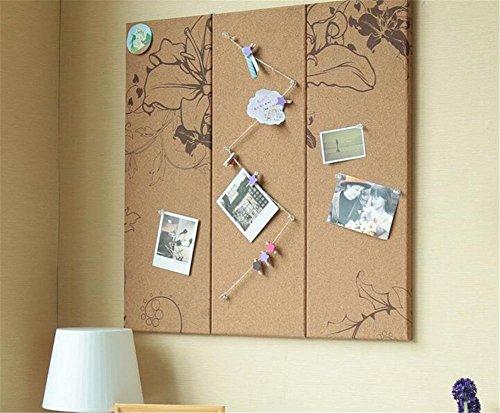 GUOW Foto Wand Wishing Baum Wand Kork Kork Wand Bild Bulletin Board Kreative Start Notizen Message Board, , - Halloween-idee Soiree