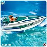 Playmobil 5833 Boot mit Unterwassermotor ( Speedboat )