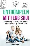 ENTRÜMPELN mit Feng Shui: Wohnung entrümpeln, Seele befreien und glücklich sein (entrümpeln Feng Shui, Band 1) -