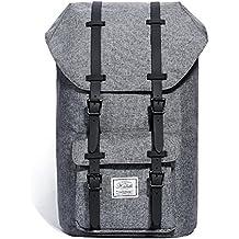 """Mochila, KALIDI laptop Mochila para ordenador portátil de 15"""" 15.6"""" , gris oscuro"""