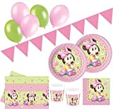 74 Teile Disney Baby Minnie Party Deko Set 16 Personen