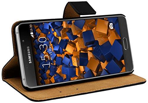 mumbi Ledertasche im Bookstyle für Samsung Galaxy A5 (2016) Tasche (nicht für das Galaxy A5 - A500F von 2015)
