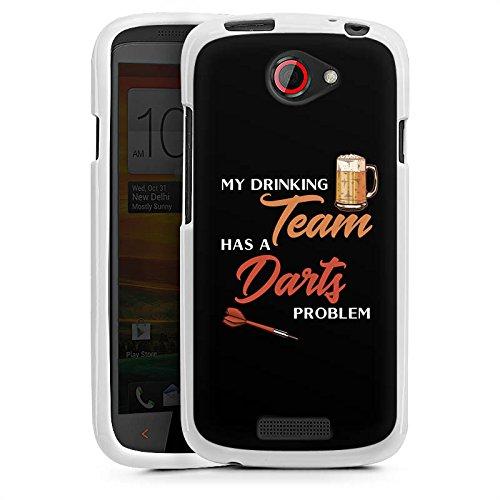 DeinDesign HTC One S Silikon Hülle Case Schutzhülle Darts Dart Sport