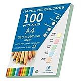Dohe 30192-Confezione di 100 fogli formato A4, 80 g, colore: verde pastello