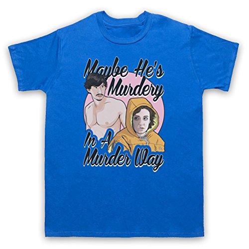 Inspiriert durch Girls Murder Way Unofficial Herren T-Shirt Blau