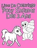 Livre De Coloriage Pour Enfants Dès 2 Ans Pour Les Filles
