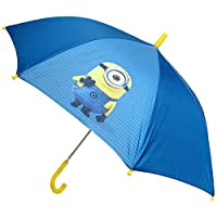 MINIONS Stick Umbrella, Blue (Blue) - 0811795