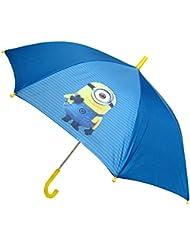 Minions - Paraguas de 48 cm, color azul (United Labels 811795)