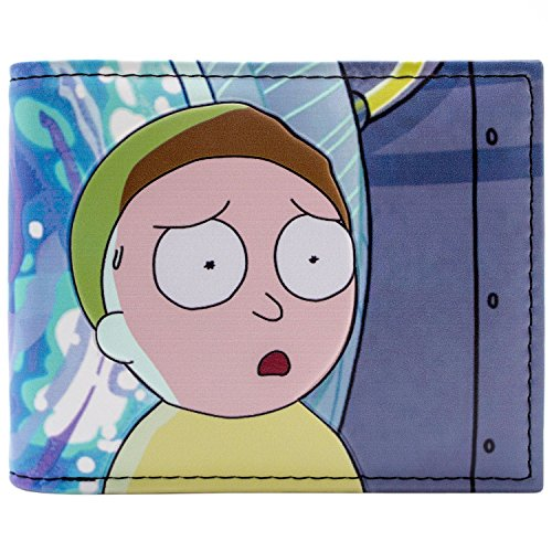 Cartera de Rick & Morty Problemas del portal de dimensión Negro