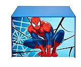 PEGANE Coffre à Jouets Enfant Spiderman - Dim : 60 x 40 x 40 cm