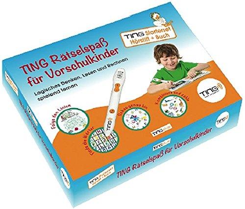 Preisvergleich Produktbild Ting Starter-Set Hörstift und Buch: Ting-Rätselspaß für Vorschulkinder (Ting-Produkte)