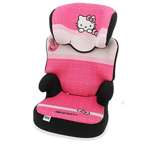 Mycarsit Rehausseur Hello Kitty, Groupe 2/3 (de 15 à 36 kg)