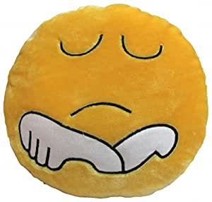 Tickles Stuffed Soft Wont TALK Smiley Cushion Toy Pillow Car 33 cm