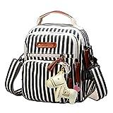 BLLOLE Mini Rucksack Mode Damentaschen Canvas Ethno-Stil Rucksack Rucksack Schultasche Student...