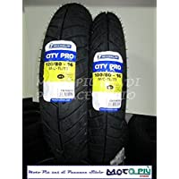 Par gomas Scooter 100/80/16 + 120/80/16 Michelin City