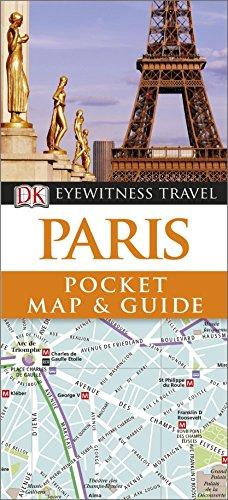 DK Eyewitness Pocket Map and Guide: Paris