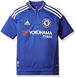 adidas Jungen Kurzarm Heimtrikot FC Replica S11681, blau (Chelsea Blue/White/Power Red), 152 (11-12 Jahre)