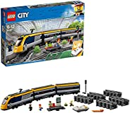 LEGO 60197 City Trains Passenger Train Set, Battery Powered Engine, RC Bluetooth Connection, Tracks and Access
